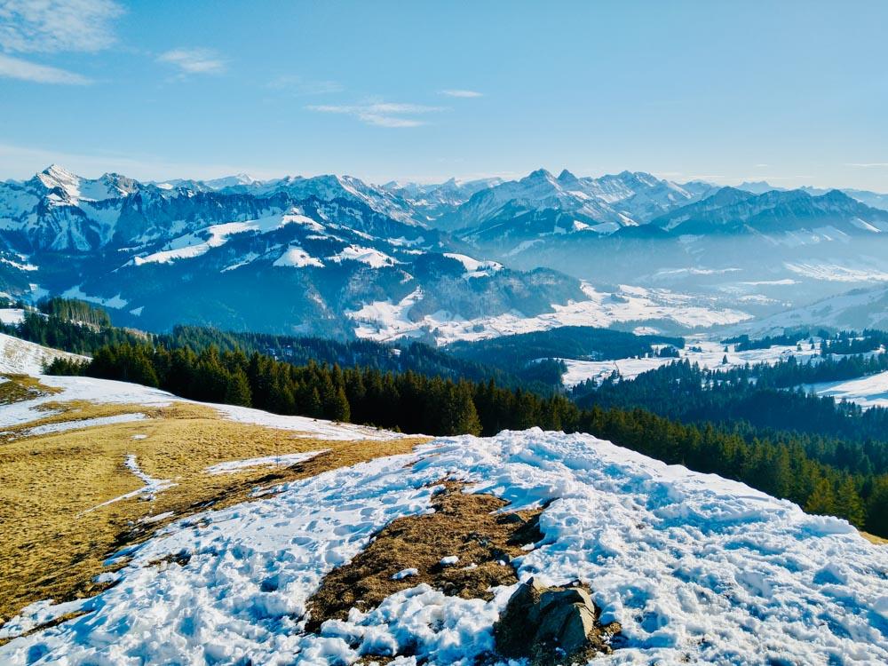 La Berra_Fribourg_Winter_Hike1