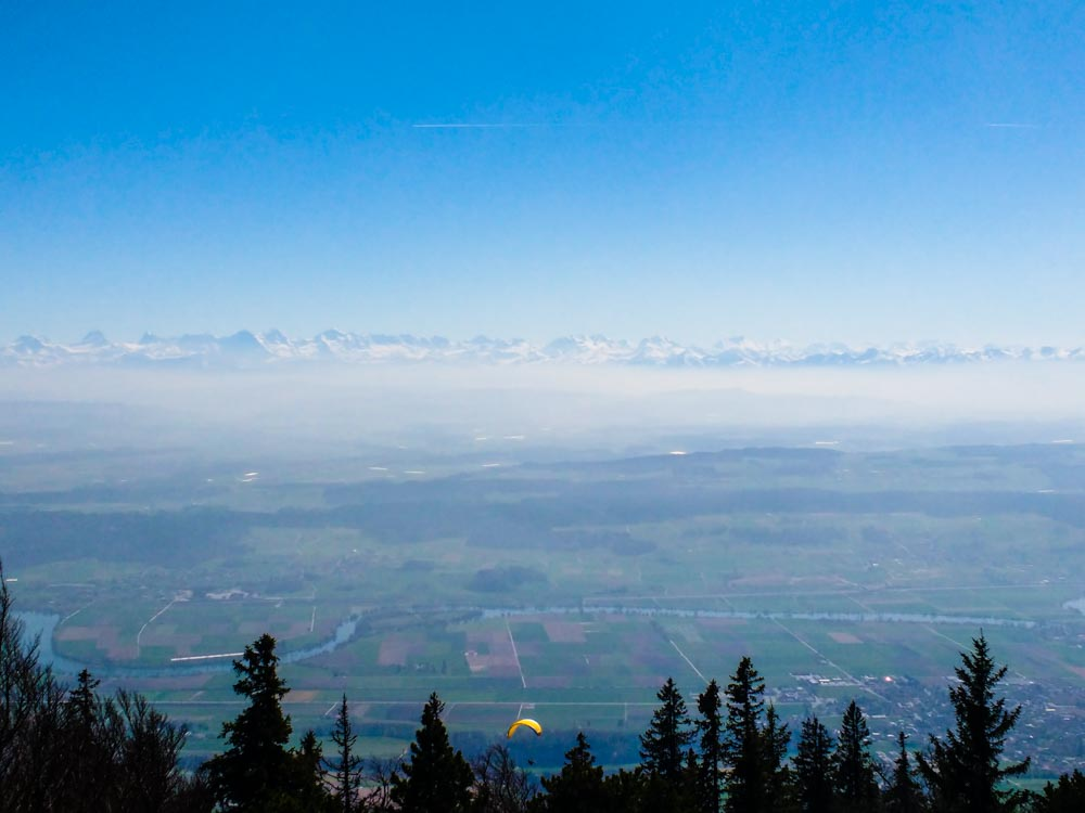 Hasenmatt – Hiking Above the Clouds