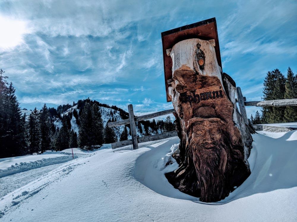 Flumserberg Winter Hike near Zurich