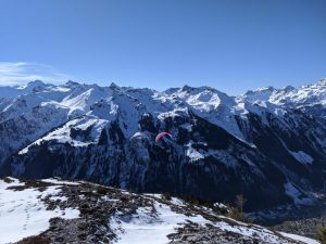 A Snowshoe Hike in Canton Glarus