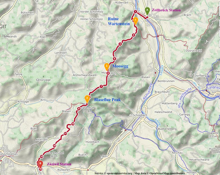 H0008_Bern Moosegg Panorama Hike View Emmental Region