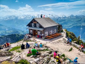 Hiking up Grosser Mythen – hairpins and big views