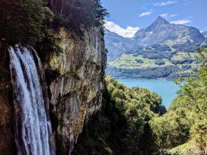 Hiking around the Walensee near Zurich