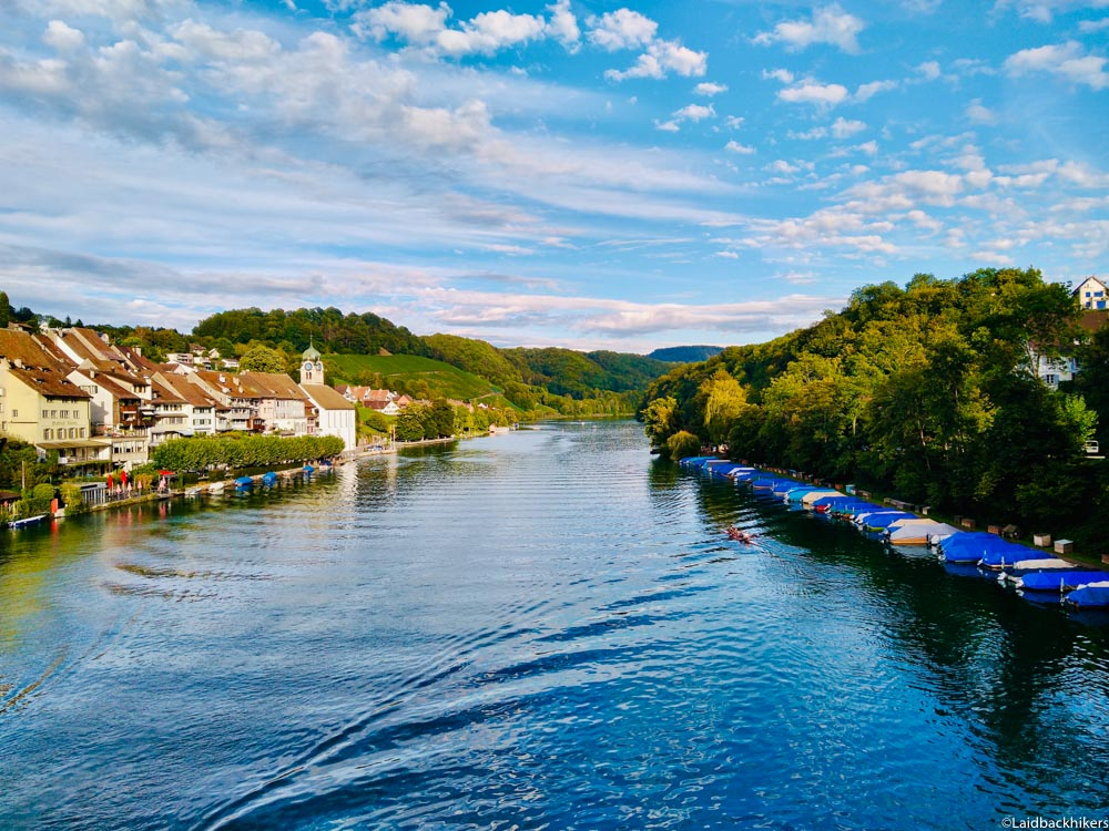 Hiking along the Rhine near Zurich: Vineyards from Eglisau to Flaach