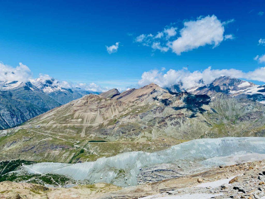 Zermatt 5 lakes hike view