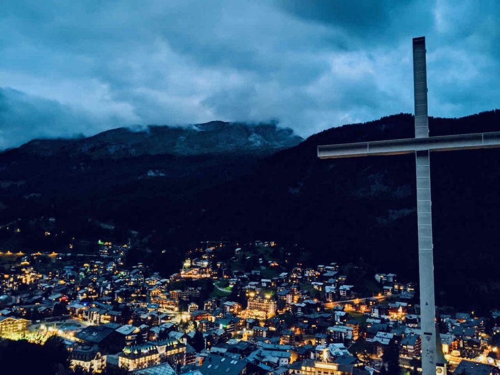 Zermatt Easy Town Cross Hike