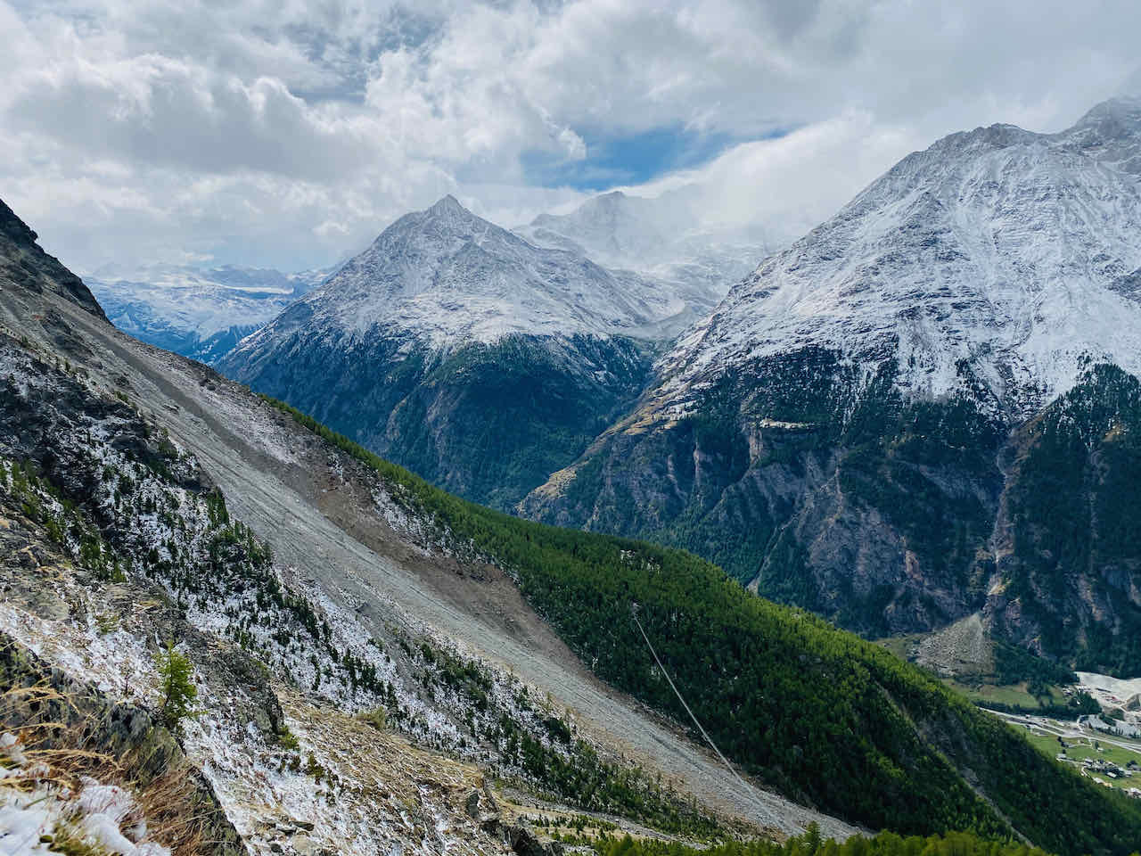 Read more about the article Randa Suspension Bridge – Hiking near Zermatt