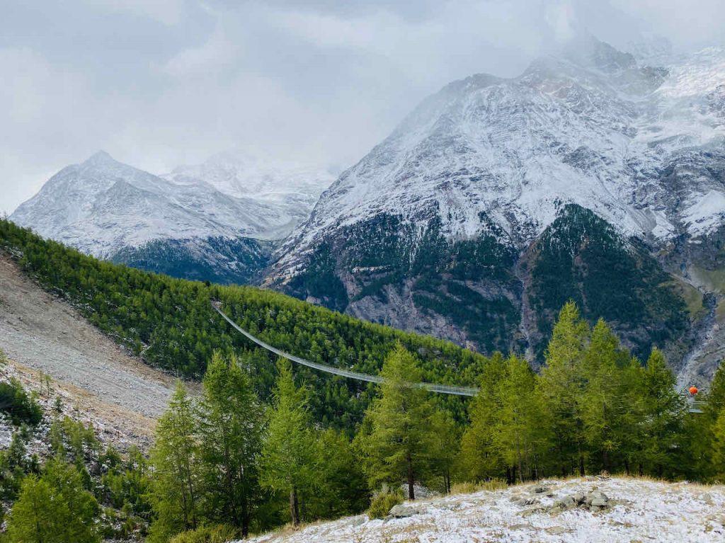 Zermatt Randa Suspension Bridge