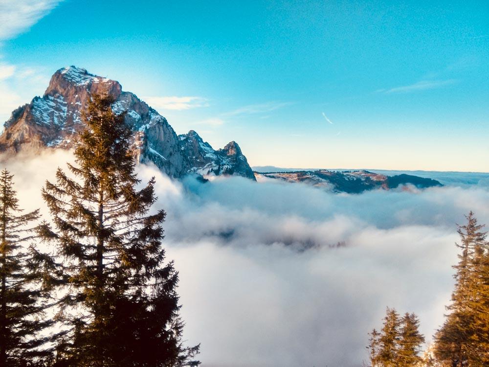 Rotenflue_Winter Hiking_Schwyz