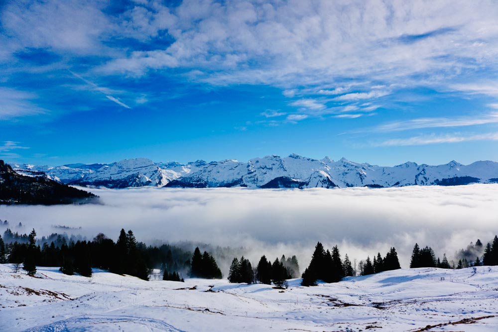 Rotenflue – A New Year's Hike