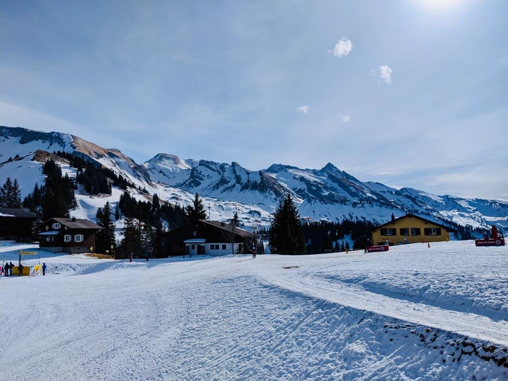 Klewenalp Winter Hiking