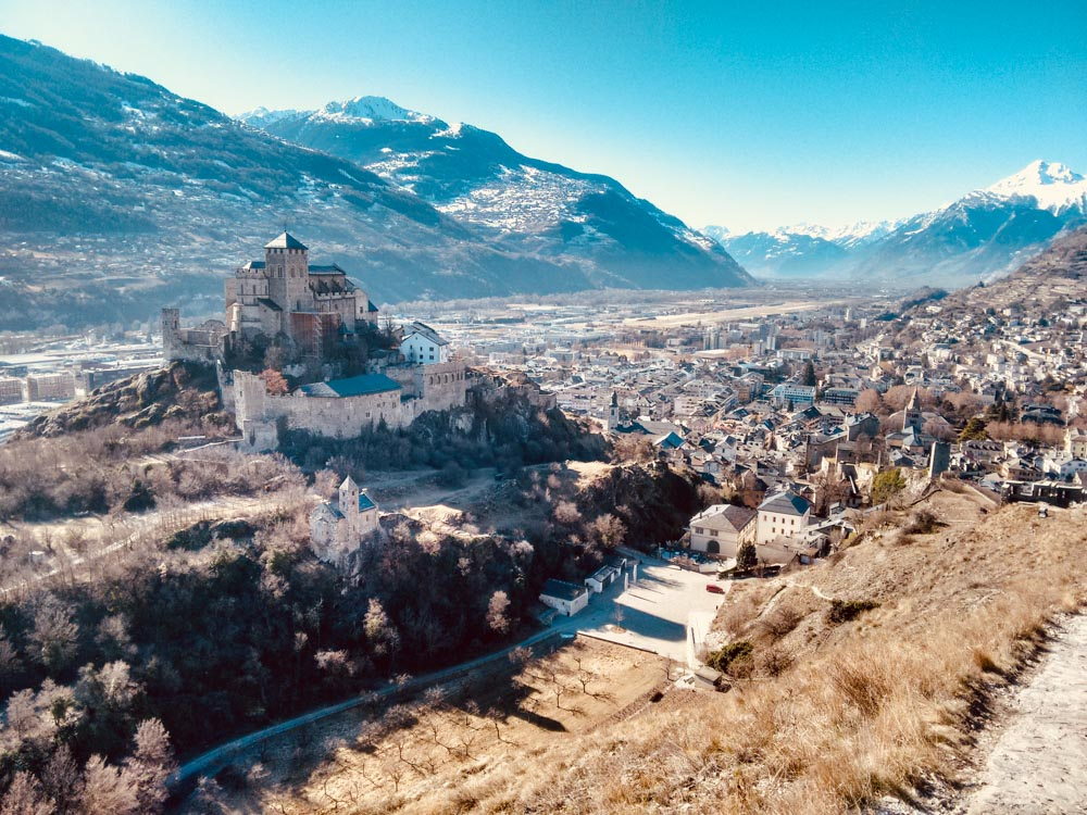 Castles in Sion_Valais Hikes