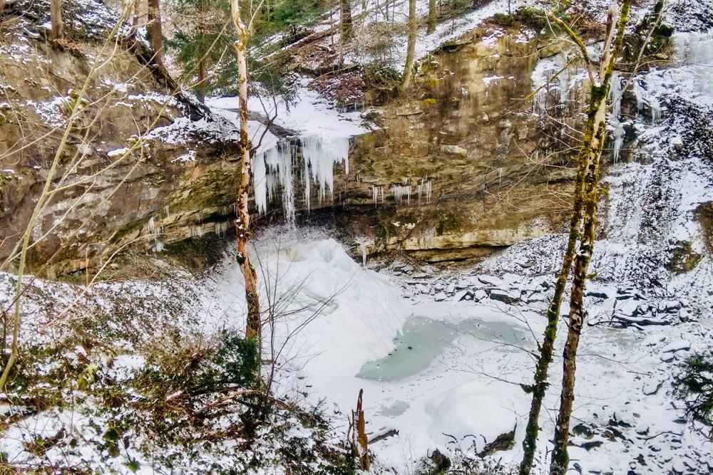 Aabach Ravine Gorge Horgen Zurich